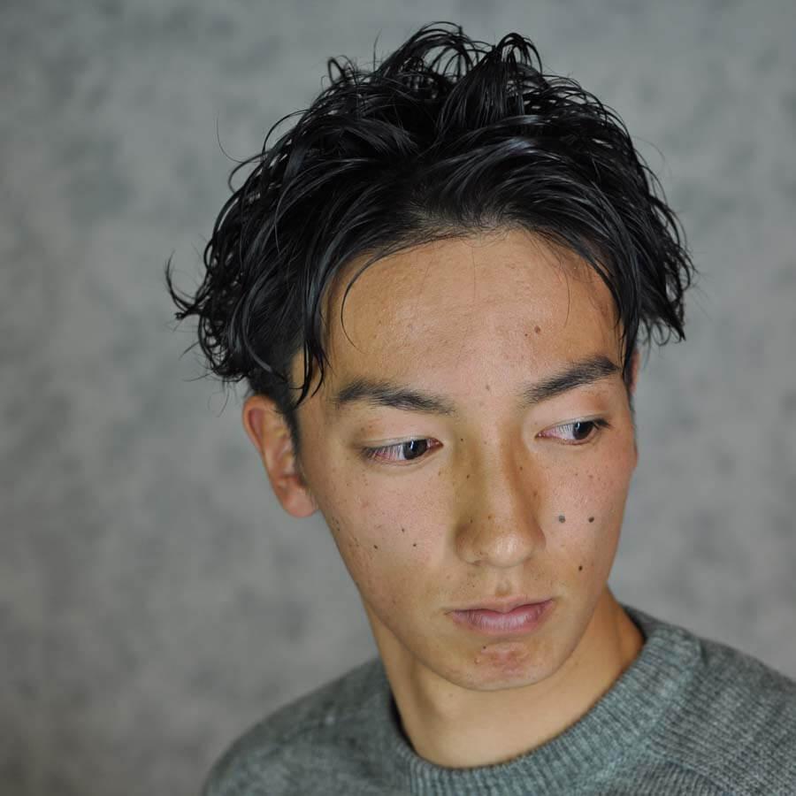 つくばの美容室サプリスのヘアスタイルギャラリーセイム2ブロックスタイル
